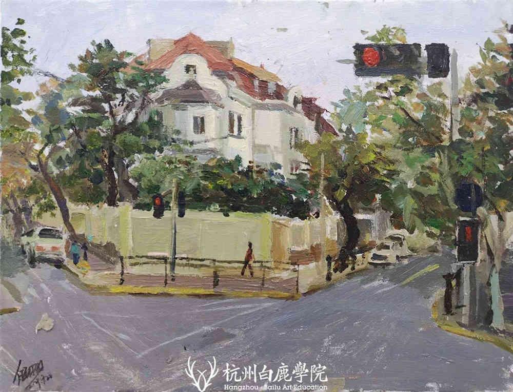 杭州艺考画室写生季 | 杭州白鹿学院下乡写生通知及注意事项,52