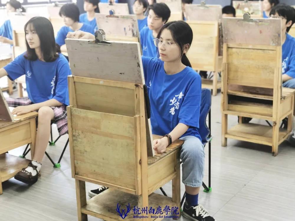 杭州白鹿日常 | 你说艺考美术生考大学很容易?你来试一试,09