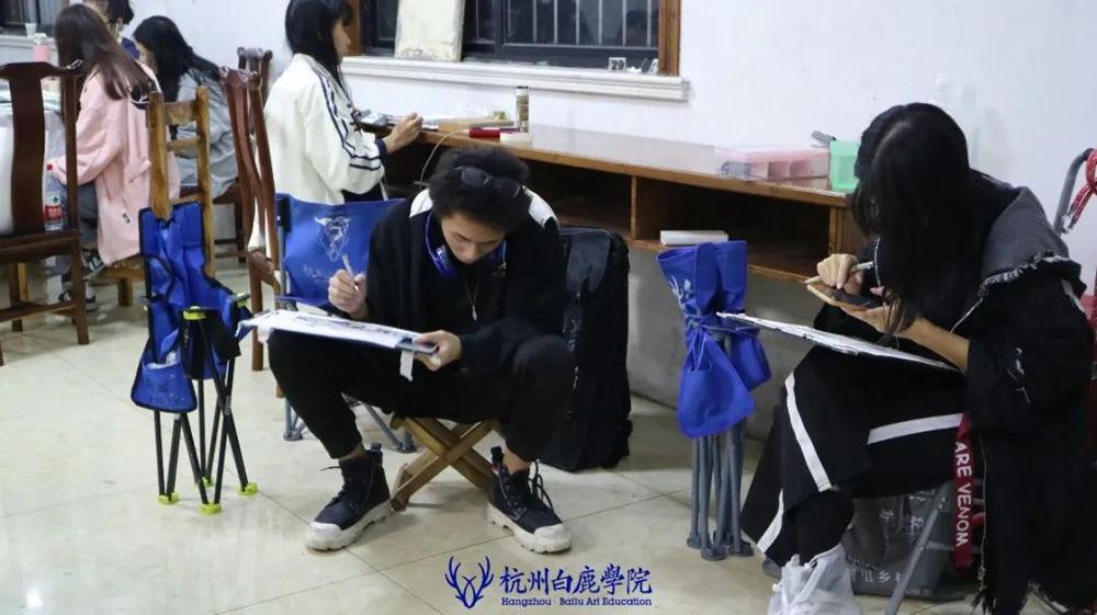 杭州艺考画室白鹿写生季 | 秋天的第一场写生未完待续,58