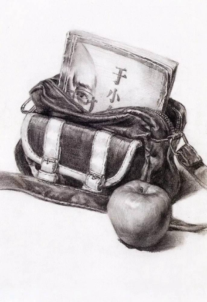 静物素描太难,杭州艺考画室整理的详细教程在里面,03