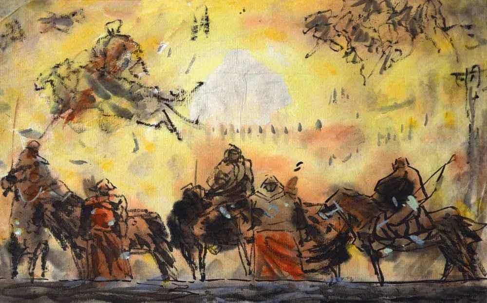 你的速写画不好,就是因为这个,杭州美术培训班老鹿带你涨涨见识,36