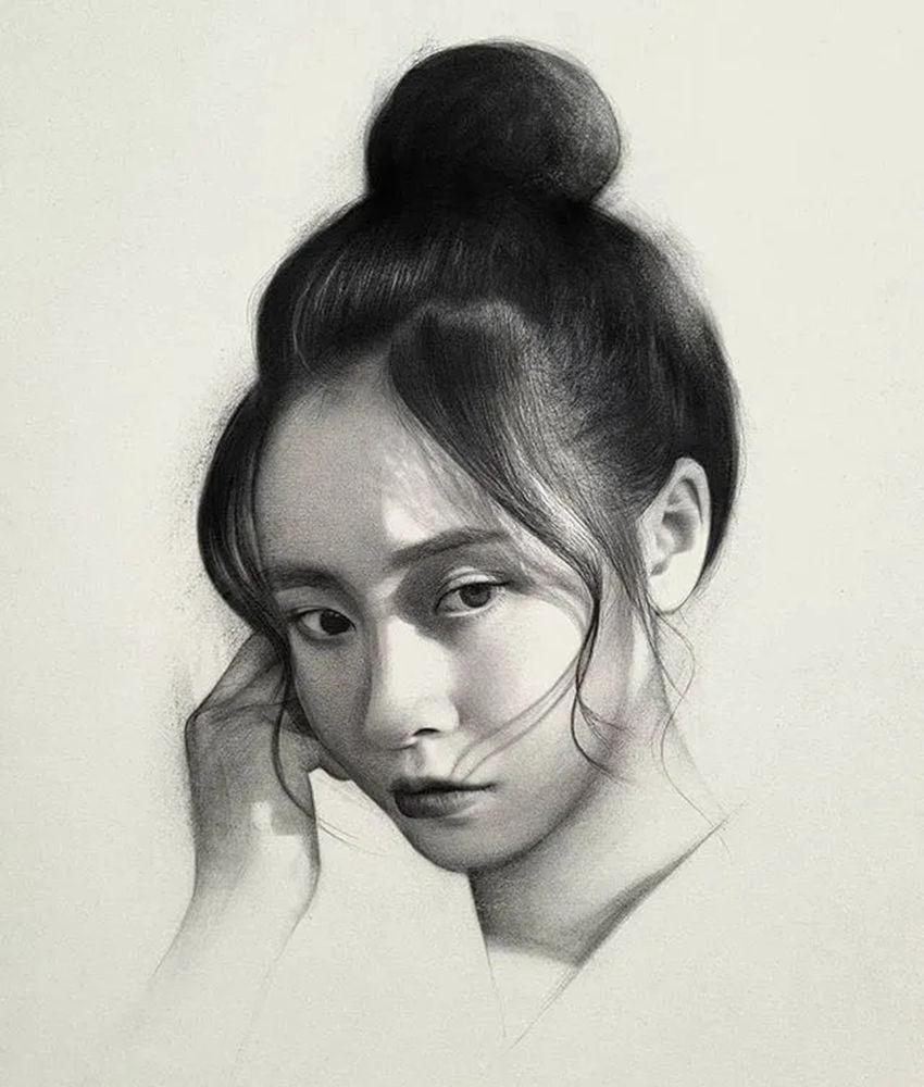 杭州艺考画室给你整理了神韵素描,看看这扎实的功底,21