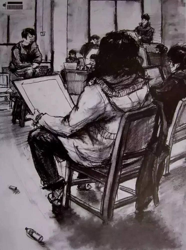 杭州艺考画室给大家整理了央美高分卷-素描、色彩、速写,23
