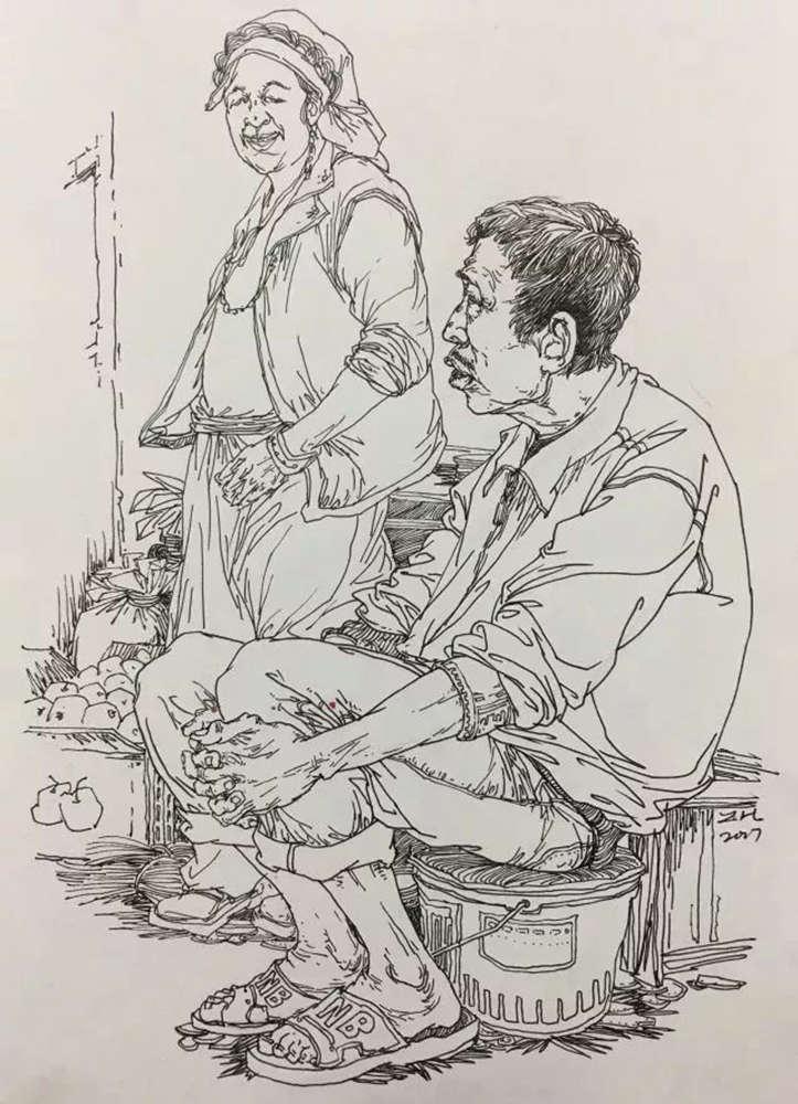 杭州艺考画室,杭州美术画室,杭州画室速写培训,01
