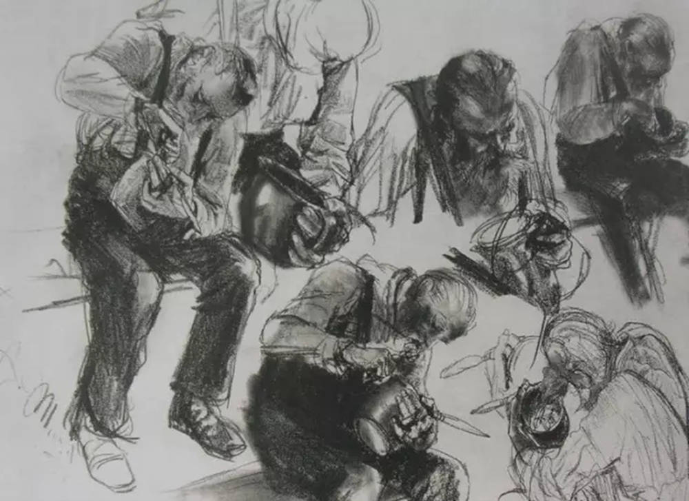 杭州艺考画室,杭州画室素描培训,杭州素描画室,17