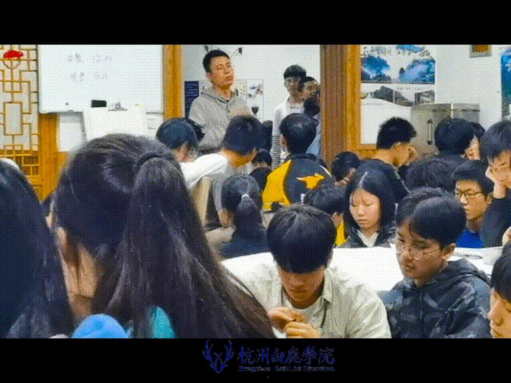 杭州艺考画室白鹿写生季 | 画画的Baby们安全抵达写生地啦,55