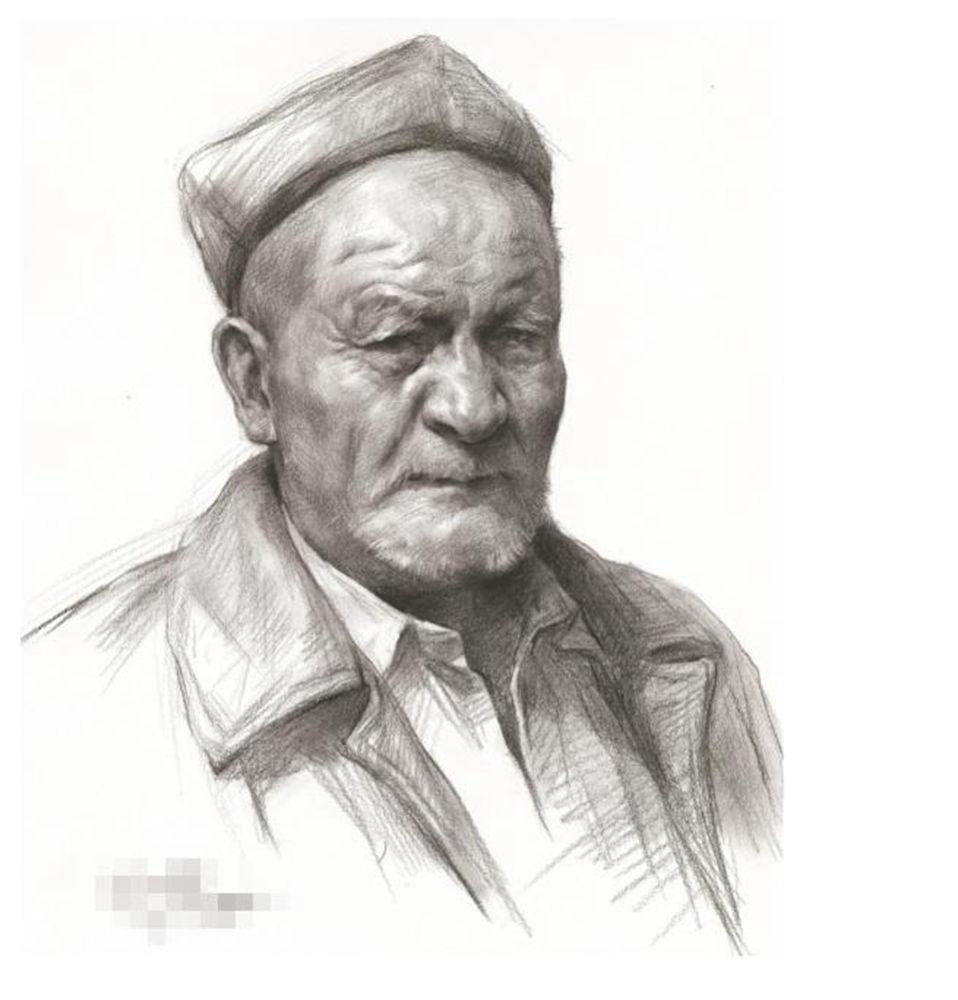 杭州艺考画室教你素描头像刻画之老中青的皮肤质感如何表现,02