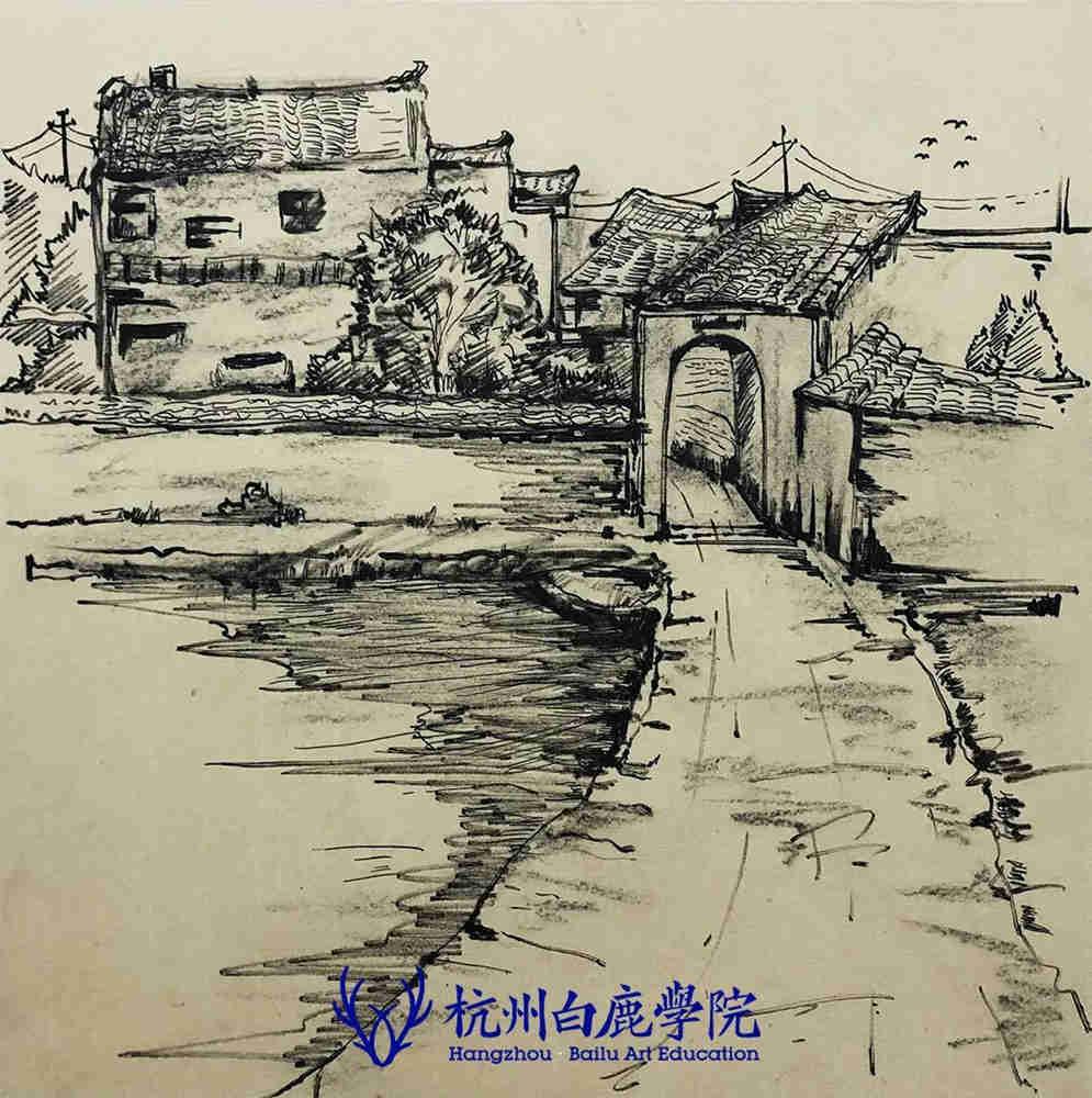 杭州艺考画室写生季 | 杭州白鹿学院下乡写生通知及注意事项,88
