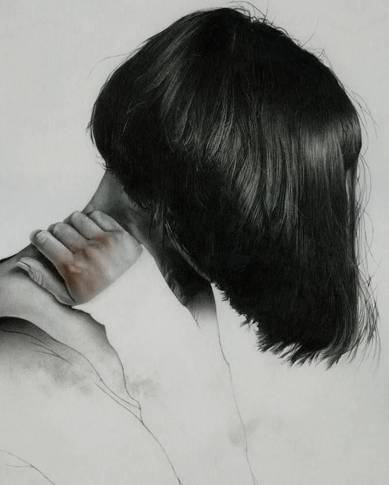 大神的素描,画的就是感觉,杭州艺考画室带你领略,47