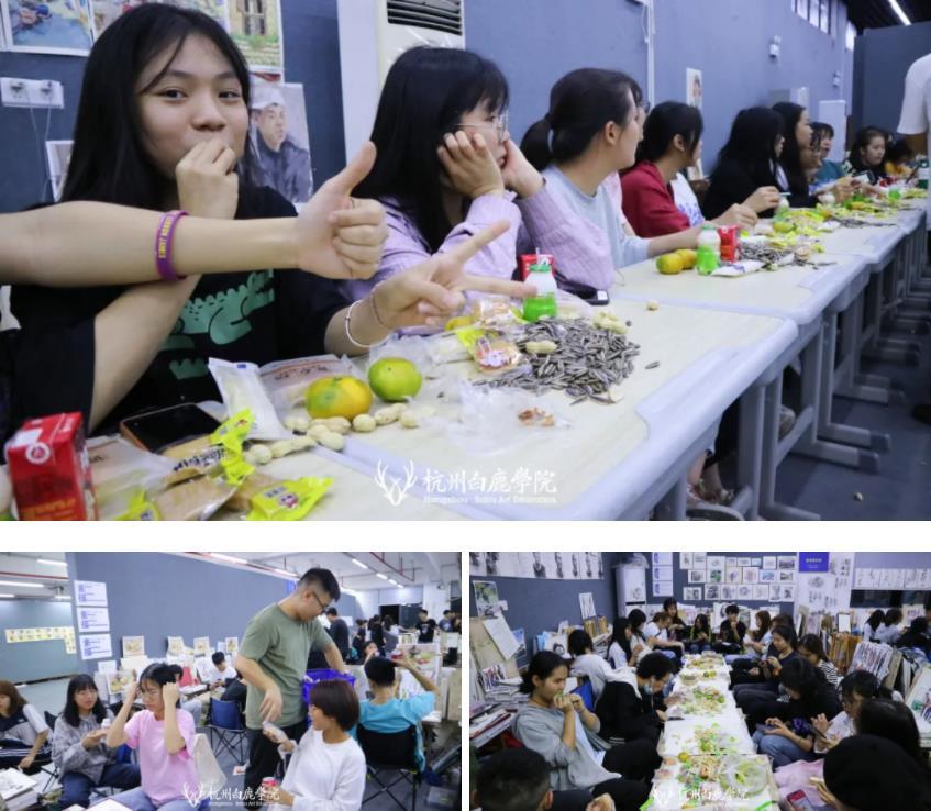 这个双节,杭州艺考画室白鹿学院陪你们过,8