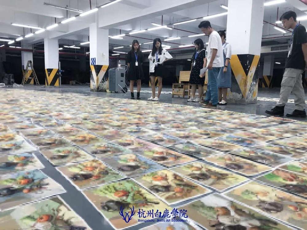 来吧,展示!杭州艺考画室白鹿八月月考进行中,26