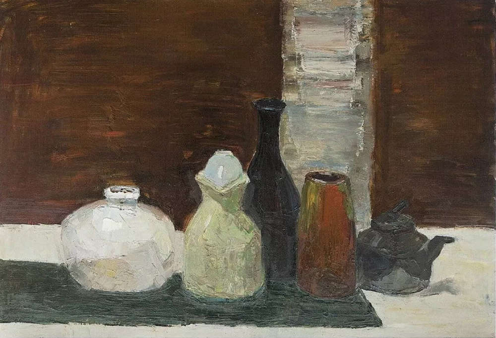 杭州艺考画室给你整理了难得一见的广美基础部收藏级色彩作品,26