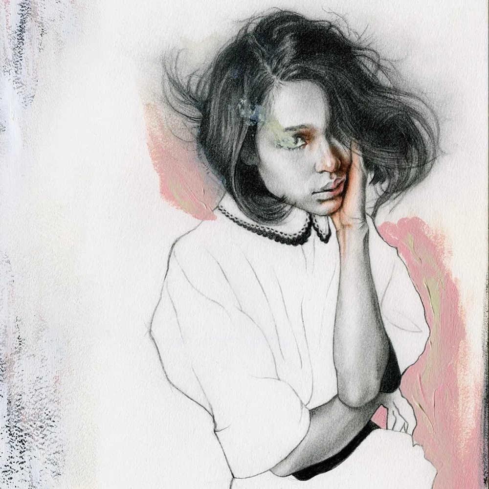 大神的素描,画的就是感觉,杭州艺考画室带你领略,53