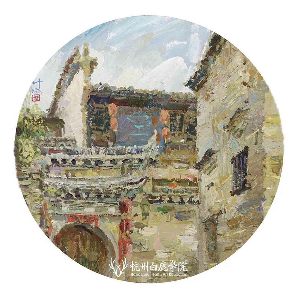 杭州艺考画室写生季 | 杭州白鹿学院下乡写生通知及注意事项,62
