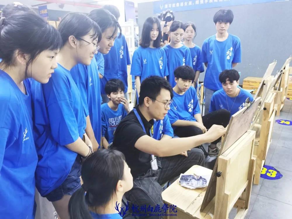 杭州艺考画室日常 | 你说美术生考大学很容易?要不你来试一试,48