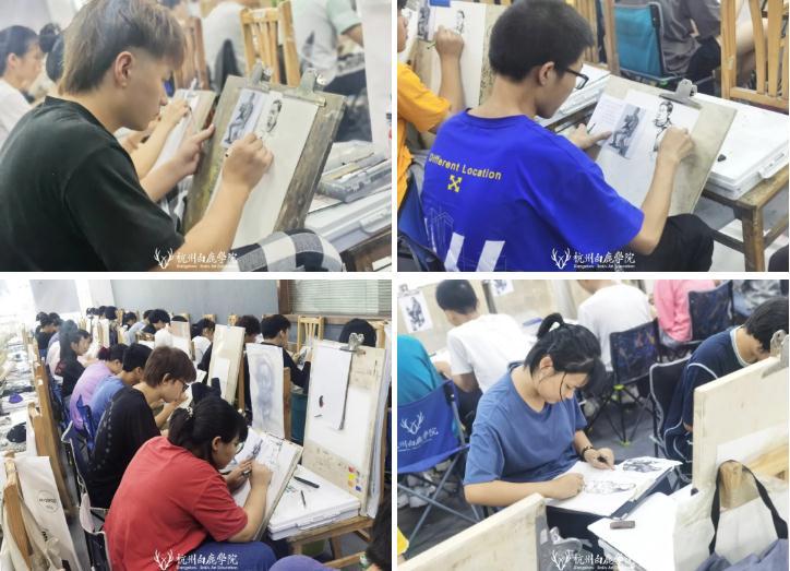 杭州艺考画室日常 | 你说美术生考大学很容易?要不你来试一试,29