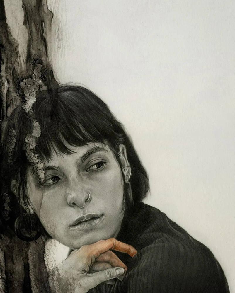 大神的素描,画的就是感觉,杭州艺考画室带你领略,18