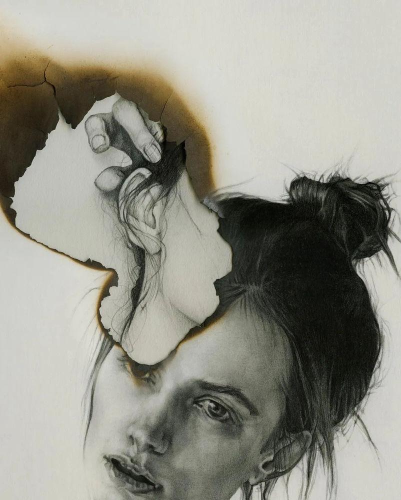 大神的素描,画的就是感觉,杭州艺考画室带你领略,16