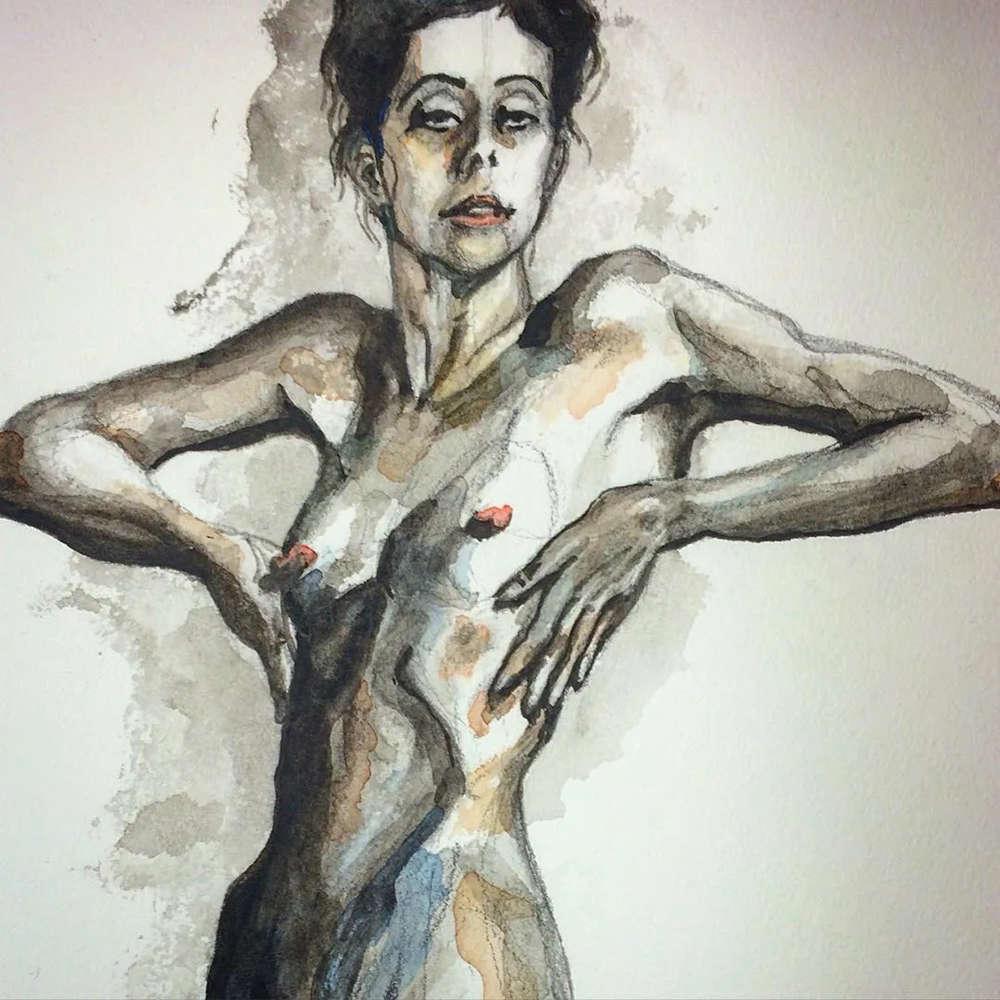 大神的素描,画的就是感觉,杭州艺考画室带你领略,56