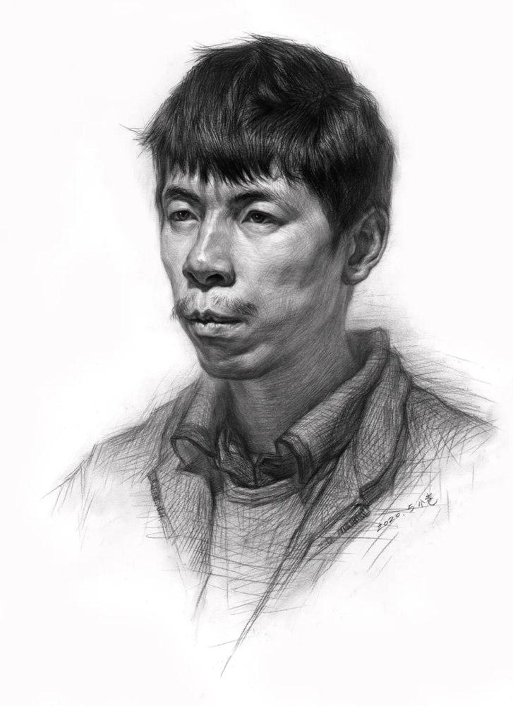 杭州艺考画室告诉你素描结构、色调、质感该如何表现?,36