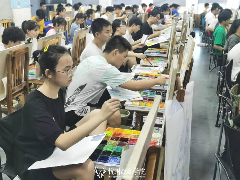 杭州白鹿日常 | 你说艺考美术生考大学很容易?你来试一试,35