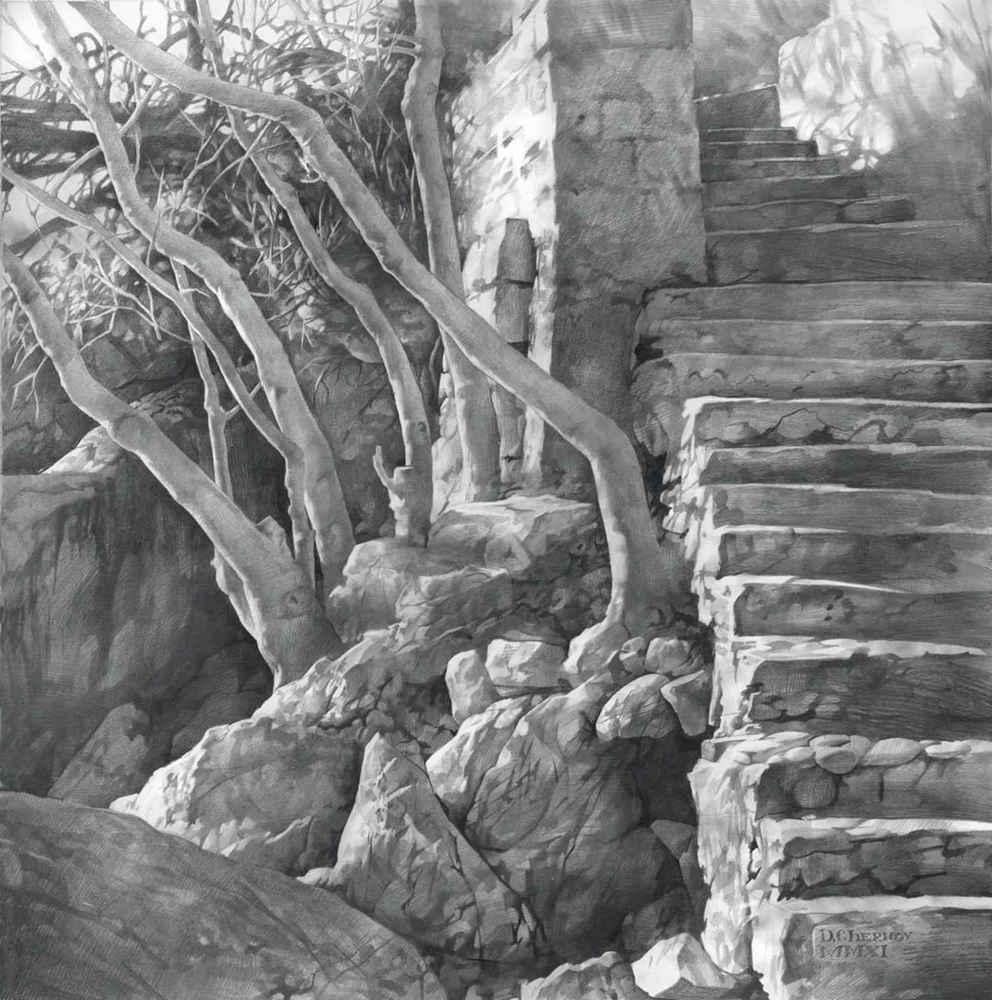 素描这样处理光影,很出彩,杭州艺考画室建议收藏,31