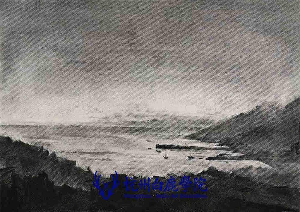 杭州艺考画室写生季 | 杭州白鹿学院下乡写生通知及注意事项,82