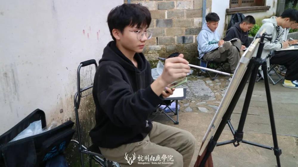 杭州艺考画室白鹿写生季 | 秋天的第一场写生未完待续,48