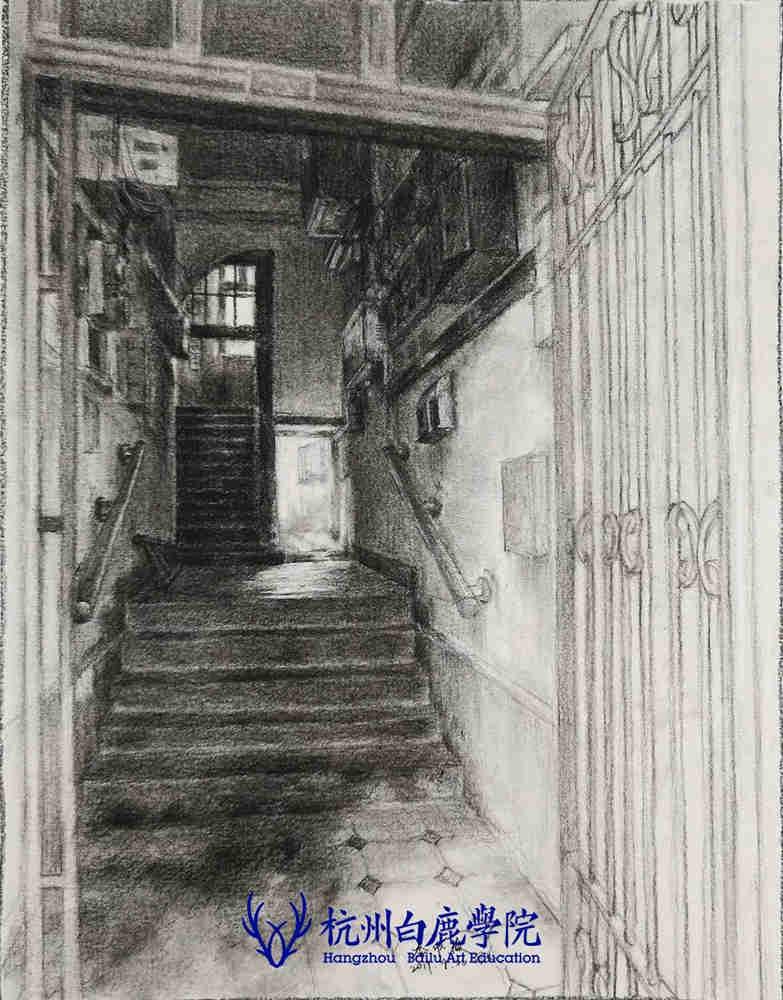 杭州艺考画室写生季 | 杭州白鹿学院下乡写生通知及注意事项,68