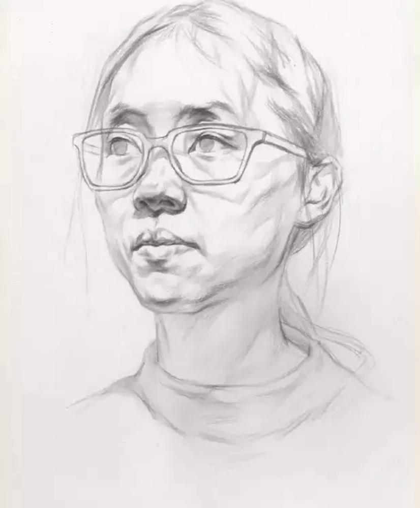 这么实用素描头像结构教程,杭州艺考画室都给你搞来了,15