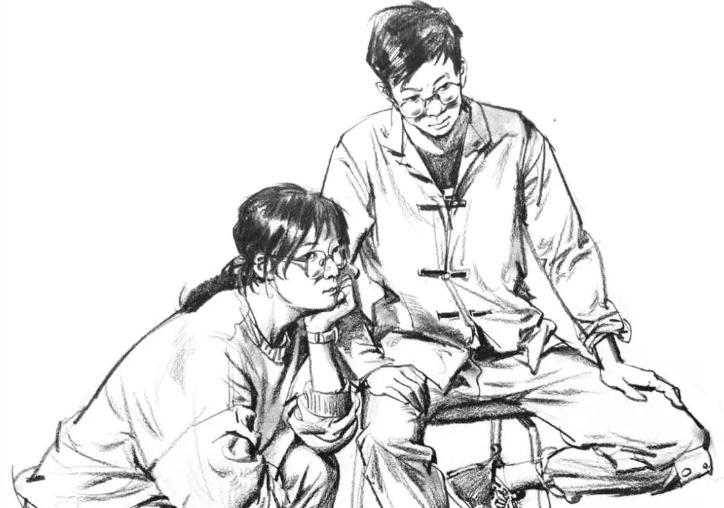 为何别人的速写画的那么好?杭州美术培训班帮你分析原因