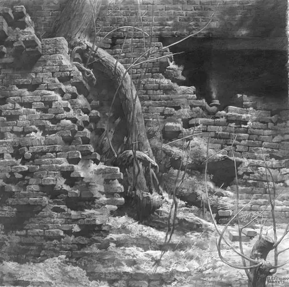 素描这样处理光影,很出彩,杭州艺考画室建议收藏,28