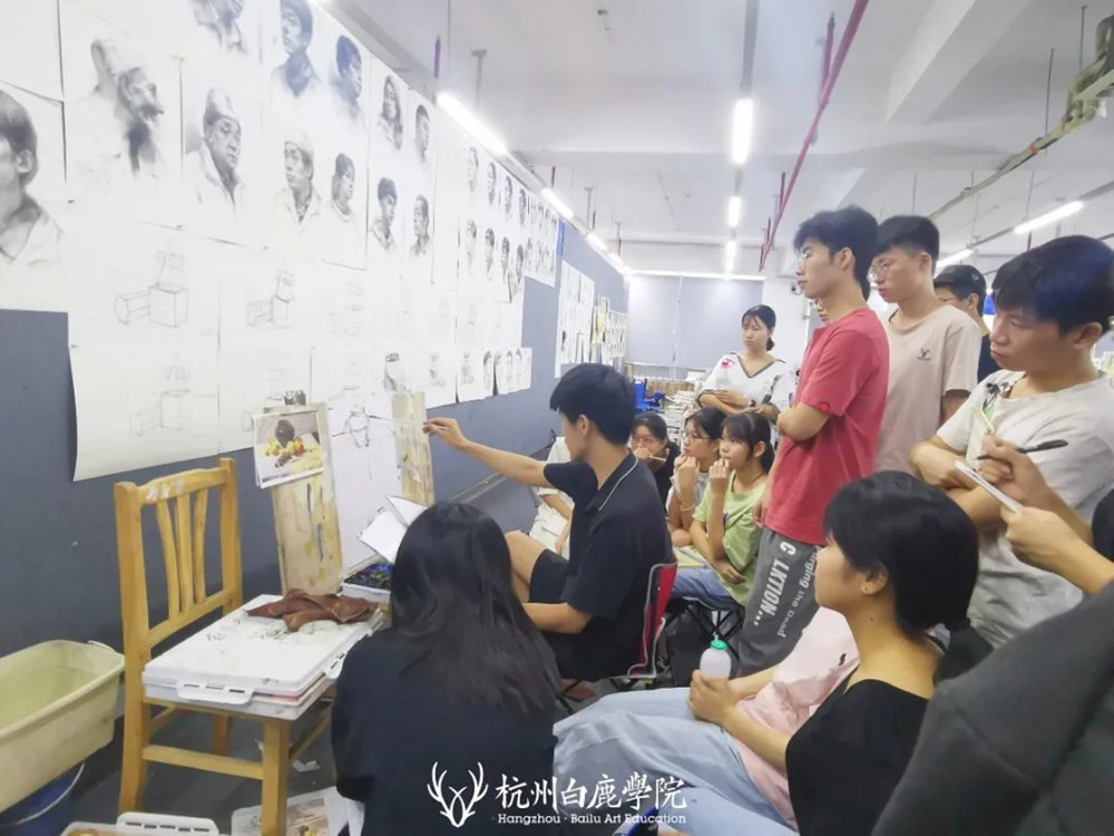 杭州白鹿日常 | 你说艺考美术生考大学很容易?你来试一试,49