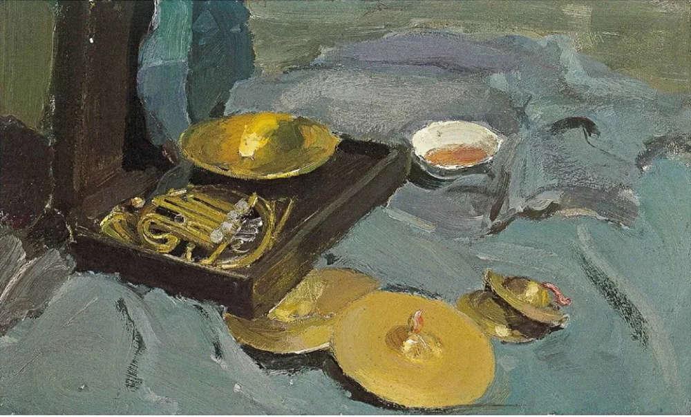 杭州艺考画室给你整理了难得一见的广美基础部收藏级色彩作品,41