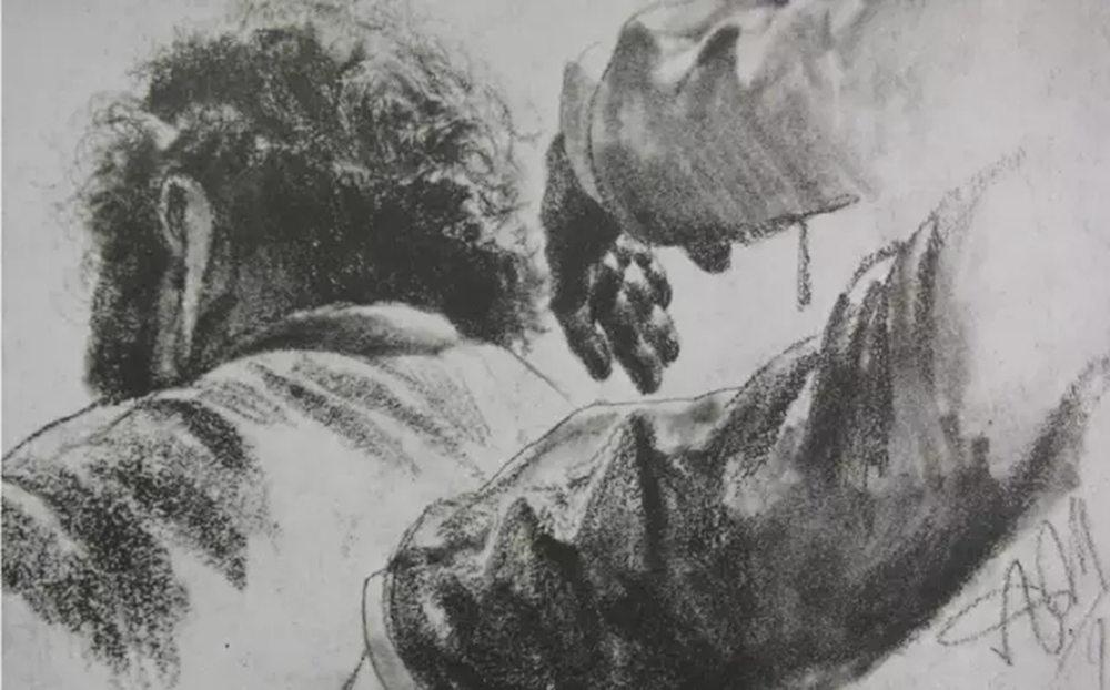 杭州艺考画室,杭州画室素描培训,杭州素描画室,09