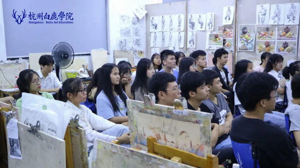 来吧,展示!杭州艺考画室白鹿八月月考进行中,47