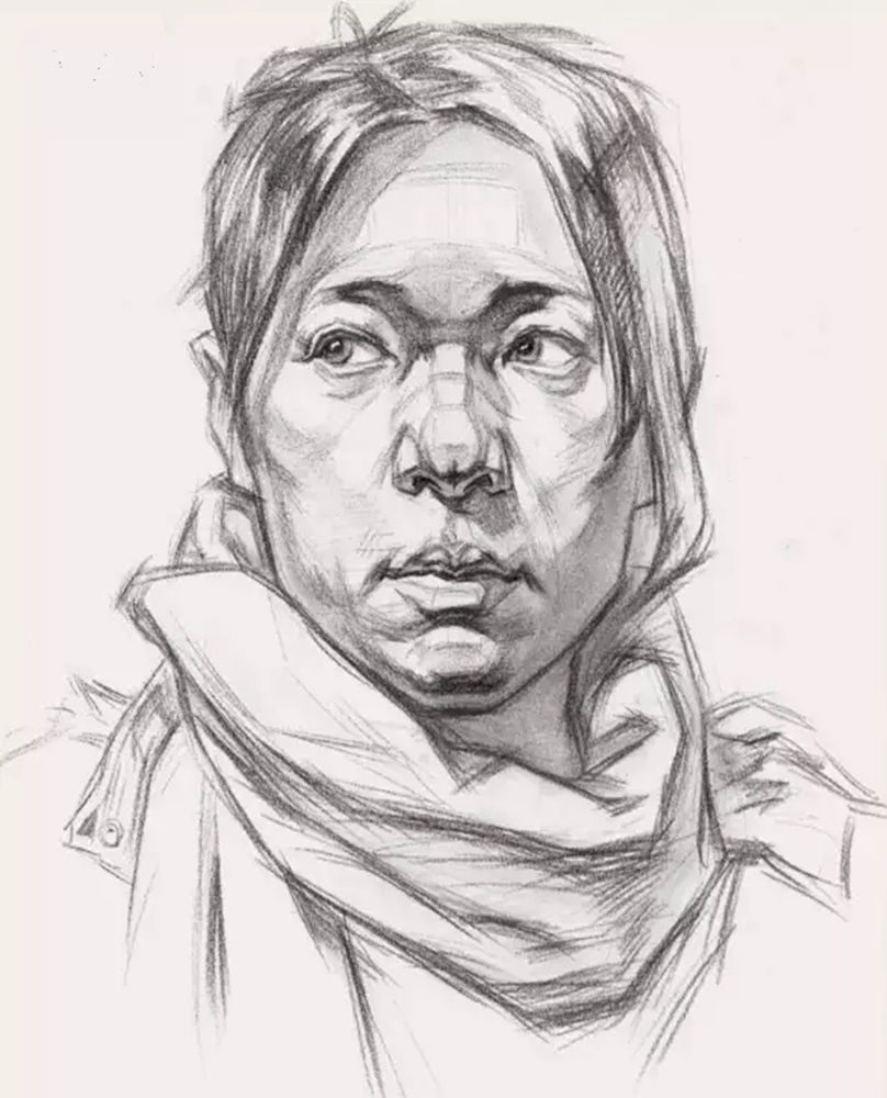 这么实用素描头像结构教程,杭州艺考画室都给你搞来了,10