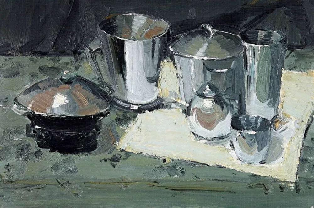 杭州艺考画室给你整理了难得一见的广美基础部收藏级色彩作品,02
