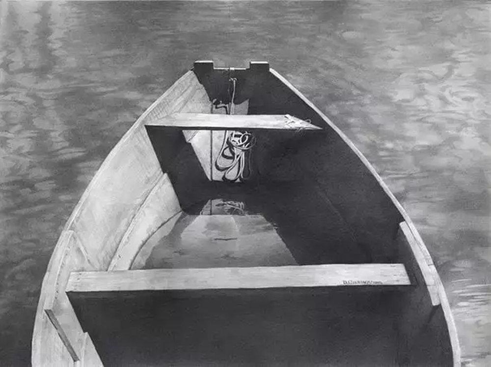 素描这样处理光影,很出彩,杭州艺考画室建议收藏,21