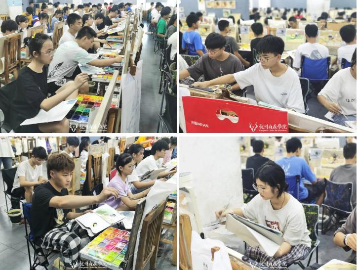 杭州艺考画室日常   你说美术生考大学很容易?要不你来试一试,33
