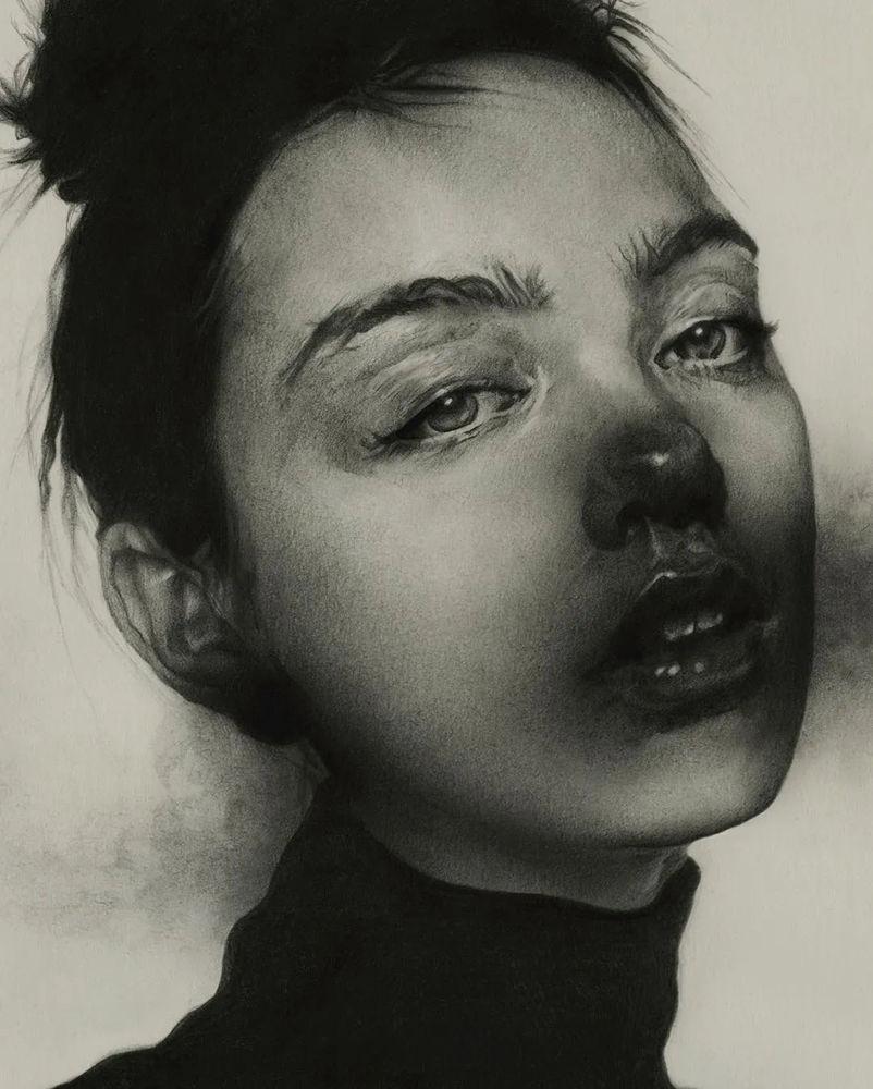 大神的素描,画的就是感觉,杭州艺考画室带你领略,40