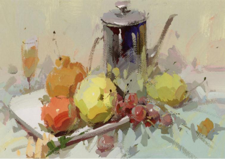 杭州艺考画室老师教你如何区分画面的色彩的冷暖关系,07