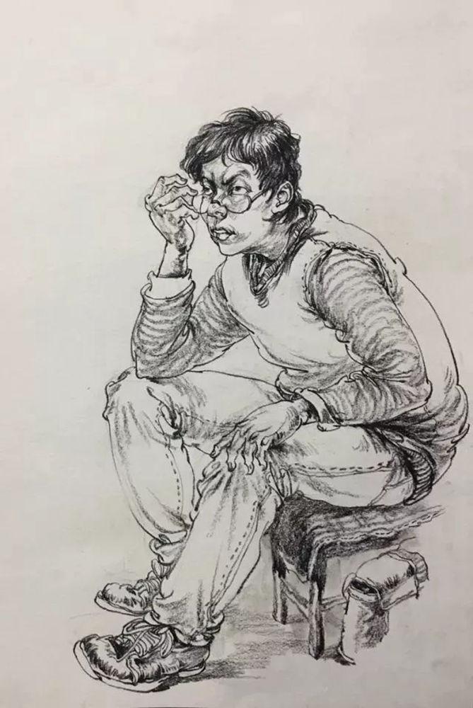 杭州艺考画室,杭州美术画室,杭州画室速写培训,04