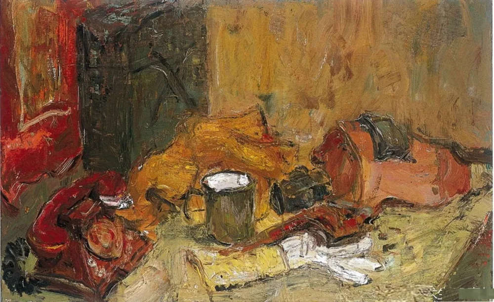 杭州艺考画室给你整理了难得一见的广美基础部收藏级色彩作品,17
