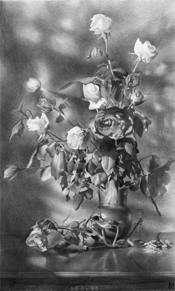 素描这样处理光影,很出彩,杭州艺考画室建议收藏,14