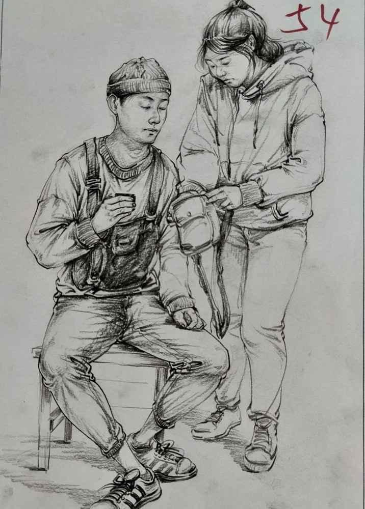 杭州美术培训班带你看21届江苏美术联考一模试卷,43