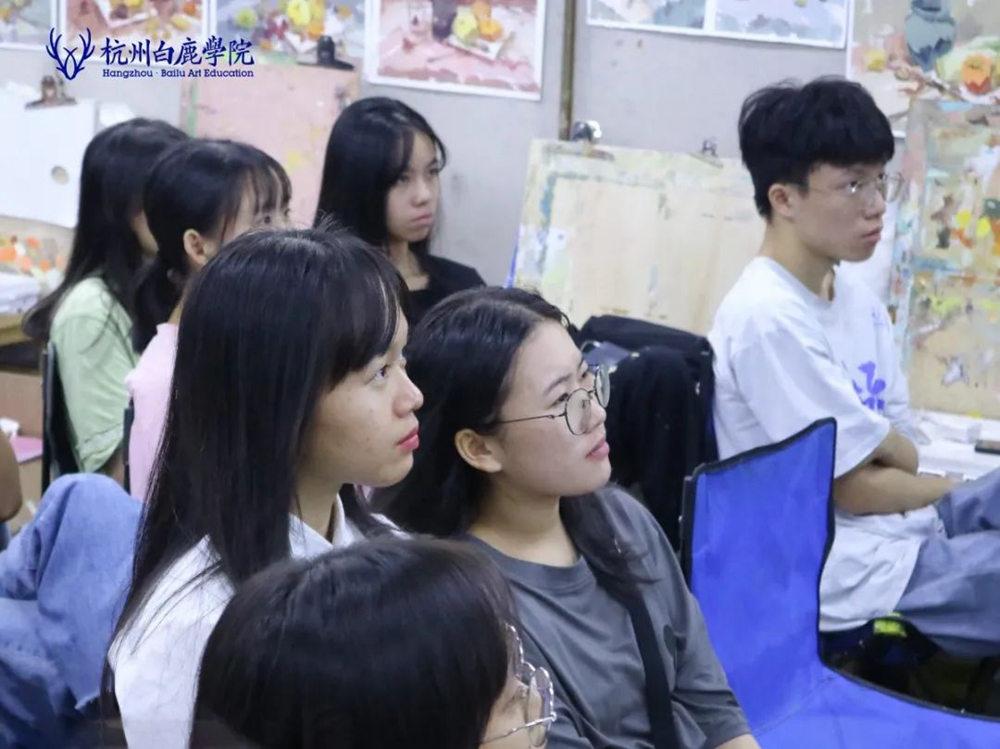 来吧,展示!杭州艺考画室白鹿八月月考进行中,46