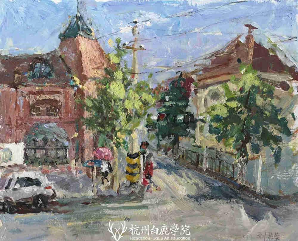 杭州艺考画室写生季 | 杭州白鹿学院下乡写生通知及注意事项,51