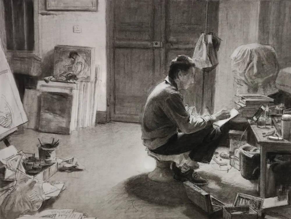 杭州艺考画室,杭州画室培训,杭州画室作品欣赏,11