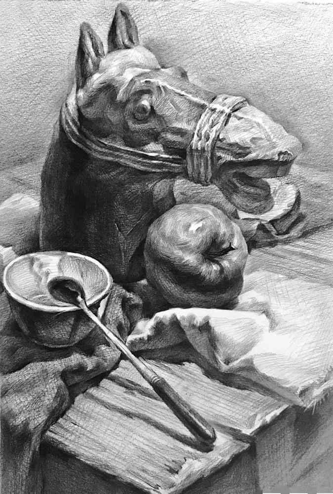 杭州白鹿画室,杭州画室,杭州素描美术培训,15
